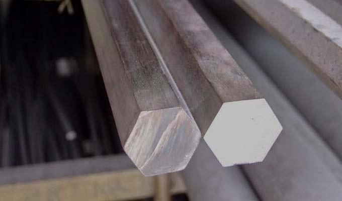 Шестигранник стальной 55мм Сталь 40Х