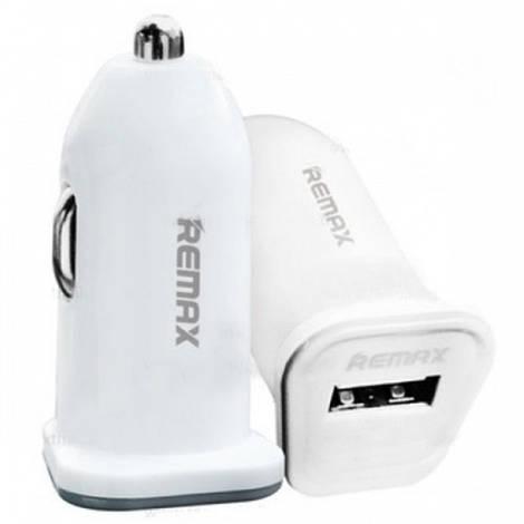 АЗУ REMAX Single USB 2,1A RCC101 white