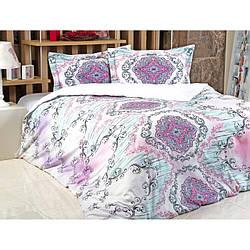 Постельное белье Irya Saten Digital - Violet евро