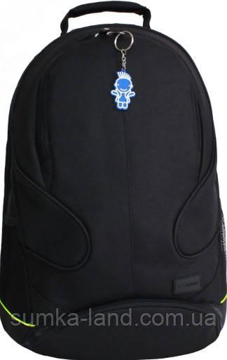 Мужской черный рюкзак для ноутбука Bagland Zooty 24 л