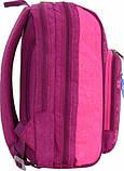Женский школьный фиолетовый рюкзак Bagland Стингер 16 л с узором Бабочки, фото 2