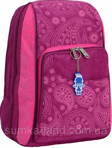 Женский школьный малиновый рюкзак Bagland Стингер 16 л