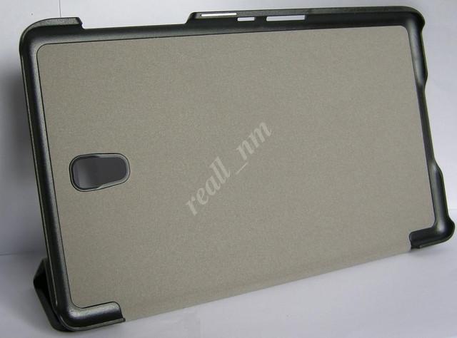 белый кожаный чехол smart case Tab S 8.4 T700 T701 T705