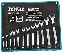 Набор комбинированных ключей TOTAL THT1022122 12 шт
