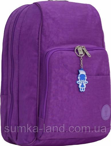 Женский школьный фиолетовый рюкзак Bagland Стингер 16 л
