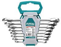 Набор TOTAL THT102RK086 ключей комбинированных с трещеткой 8 шт.