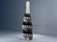Винный стеллаж из фанеры Чезаре, фото 1