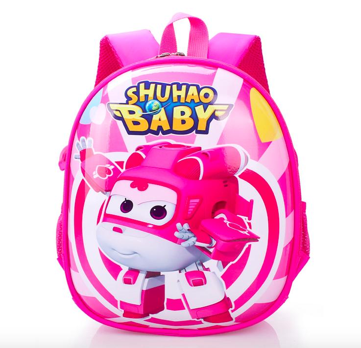 b763ec418c99 Рюкзак детский 3D корпус Супер Крылья Диззи Shuhao розовый (4033) -  Интернет-магазин