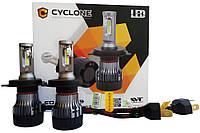 Автомобильные LED лампы Cyclon (Type-19)(H4)(6000K)(25W)(12-24V)