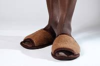 Тапки - шлепанцы из верблюжьей шерсти, фото 1