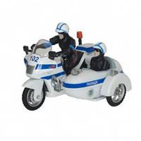 Автомодель детская Мотоцикл Технопарк музыкальный белый (CT1247/2)