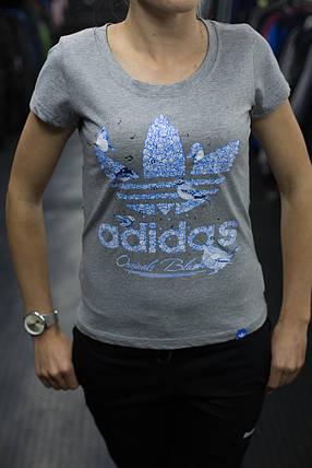 Футболка женская Adidas, фото 2
