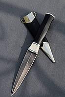 """Нож ручной работы из дамасской стали """"Кинжал"""""""