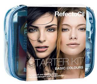 Стартовый набор для окрашивания классическими цветами RefectoCil Basic Colours