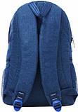 Мужской темно-серый рюкзак Bagland Urban 20 л, фото 3