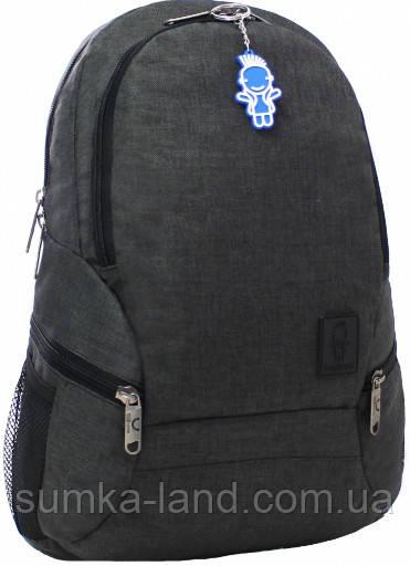 Мужской черный рюкзак Bagland Urban 20 л