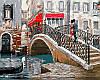 Картина по номерам Мост влюбленных Худ МакНейл Ричард (VP444) 40 х 50 см DIY Babylon