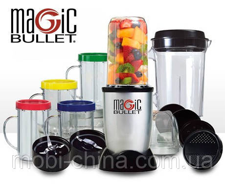 Блендер Magic Bullet 200W стационарный измельчитель Delimano, фото 2