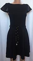 Платье Atmosphere черное, трикотажное, размер XS/S, фото 1