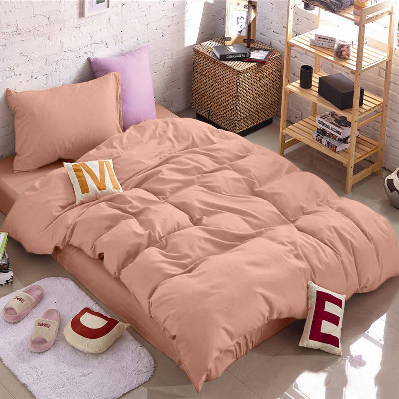 Подростковый комплект постельного белья Сатин Премиум Коралловый