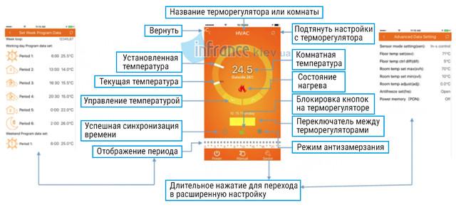 программируемый терморегулятор Klimteh BHT-2000 WiFi