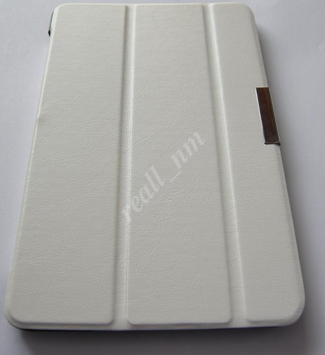 Белый Ultra slim чехол-книжка  для Samsung Tab S 8.4 T700 T701 T705