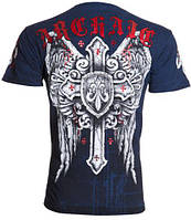 Футболка мужская Archaic Phenomenon Cross Wings Tattoo Biker UFC (2XL)