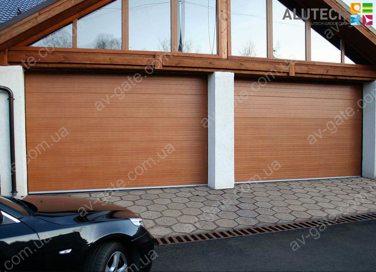 Гаражні ворота PRESTIGE S-гофр Alutech