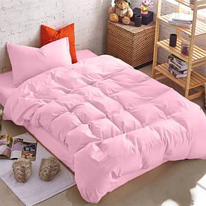 Подростковый комплект постельного белья Сатин Премиум Розовый