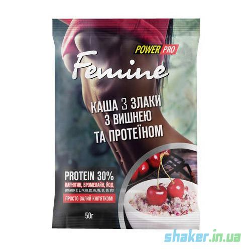 Злаковая каша Power Pro Femine 3 злаки (50 г) павер про фемин