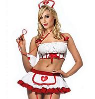 РАСПРОДАЖА Соблазнительный костюм медсестры (супер качество)