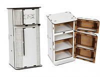 Холодильник деревянный