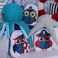 Подушка Сова моряк