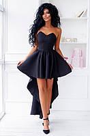 Нарядное женское платье со шлейфом  дп130, фото 1