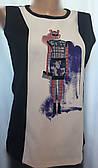 Женская блуза ZARA из трикотажа и шелка размер M
