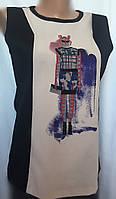 Женская блуза ZARA из трикотажа и шелка размер M, фото 1