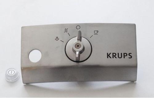 Панель управления с ручкой переключения режимов кофеварки Krups MS-622910