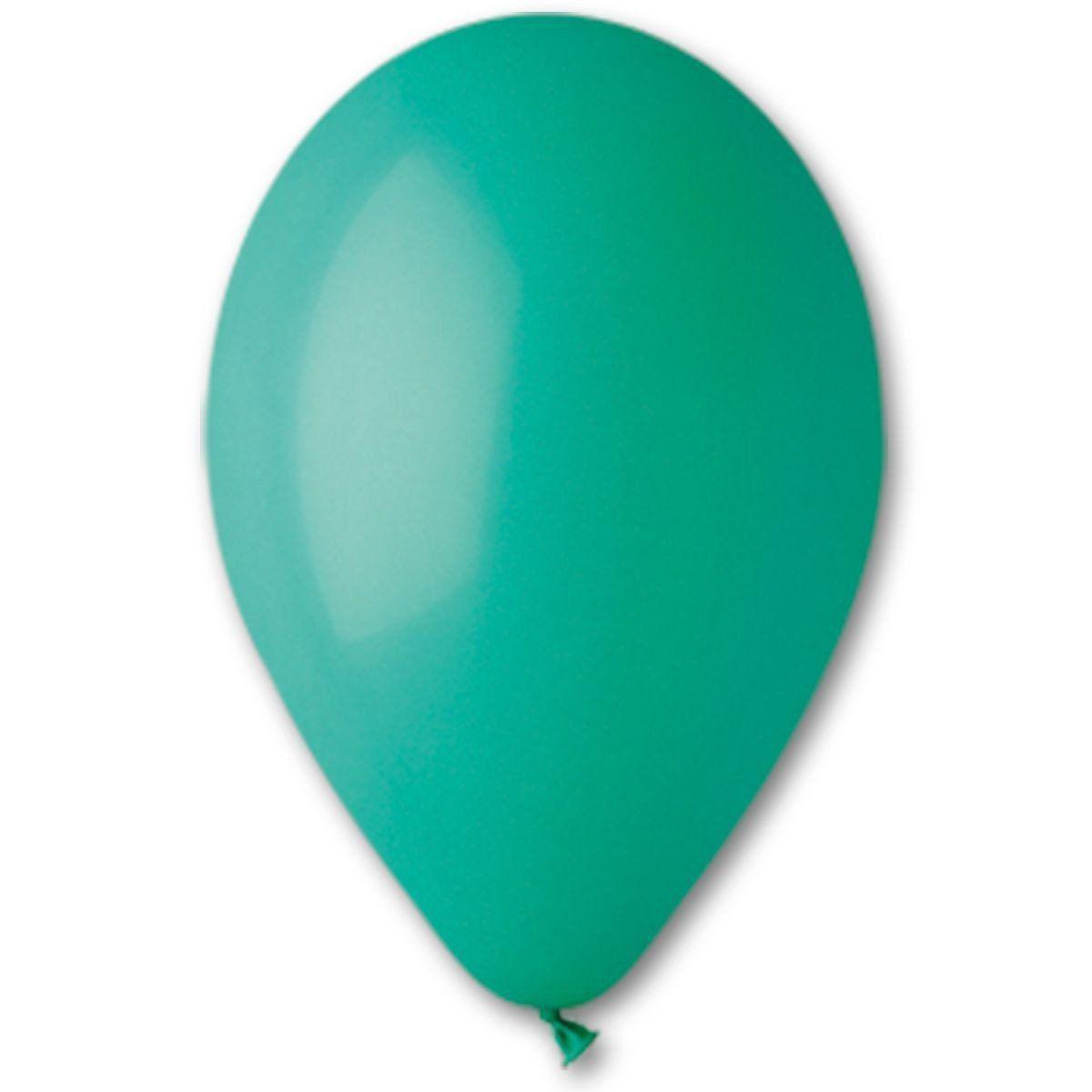 Повітряна куля без малюнка 13 см темно зелений