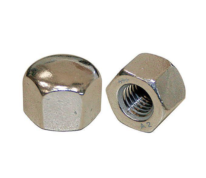 Гайка колпачковая М18 DIN 917 (ГОСТ 11860-85) низкая глухая из нержавейки