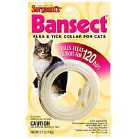 Ошейник Sentry Sergiants Bansect (Бансект) от блох для кошек, 35 см