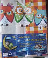 """Детский постельный комплект Тиротекс """"Совушки 3D"""""""