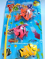 Большая рыбалка №3,детская рыбалочка (удочка, рыбки 6 шт.), фото 1