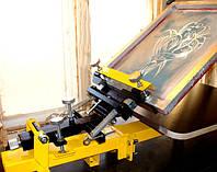 Станок для шелкографии, трафаретной печати HMU 1x1-03