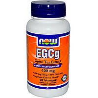 NOWАктивное долголетиеEGCg Green Tea Extract 400 mg90 veg caps