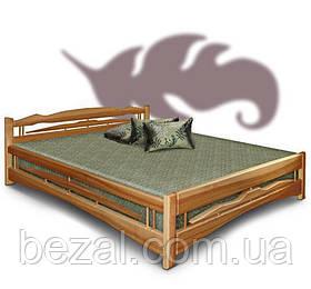 Кровать двуспальная из натурального дерева Дрим