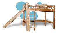 Деревянная детская кровать Радость