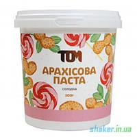 Натуральная арахисовая паста ТОМ (500 г) арахисовое масло солодке