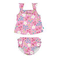 Комплект из майки и трусиков для плавания I Play -Light Pink Daisy Fruit