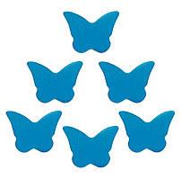 Конфетти бабочки синие, 50 грамм