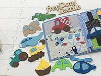 """Развивающая игра """"Виды транспорта"""", фото 1"""